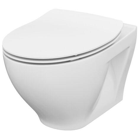 Cuvette WC sans bride Ancoswing - Anconetti - Blanc