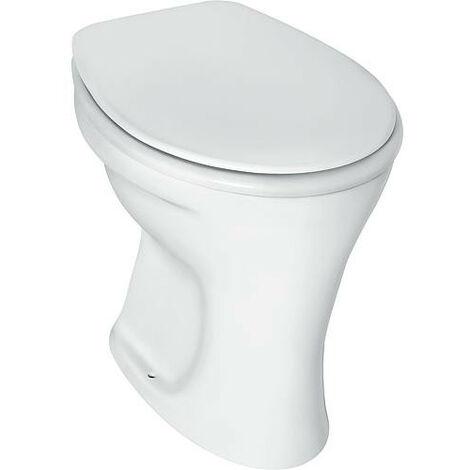 Cuvette WC sur pied Eurovit à fond plat