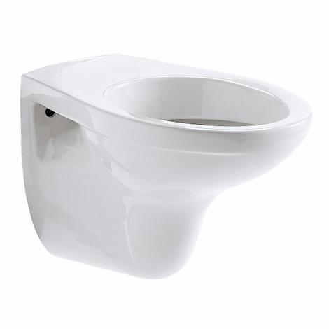 Cuvette WC suspendu Bastia Geberit sans trous d'abattant