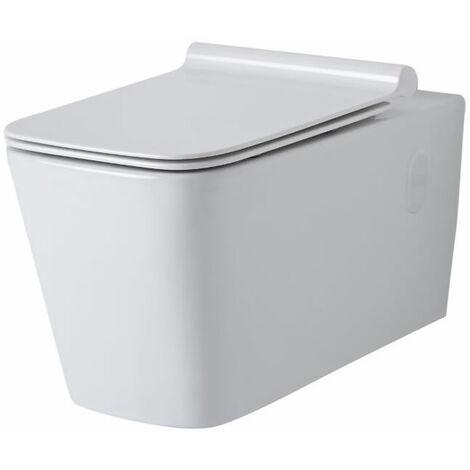 Cuvette WC Suspendu Cubique Sandford