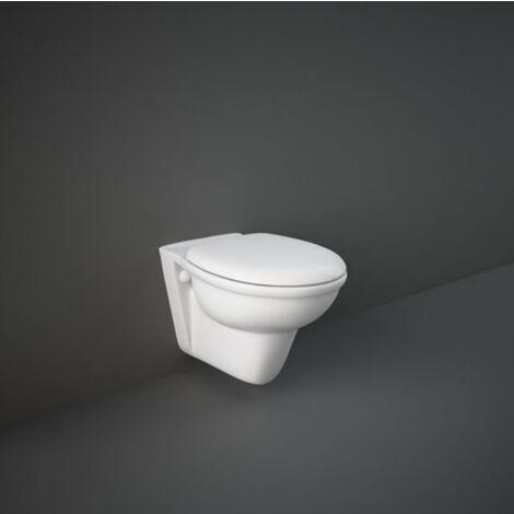 Cuvette wc suspendu en céramique 37x55 cm serie Oxford