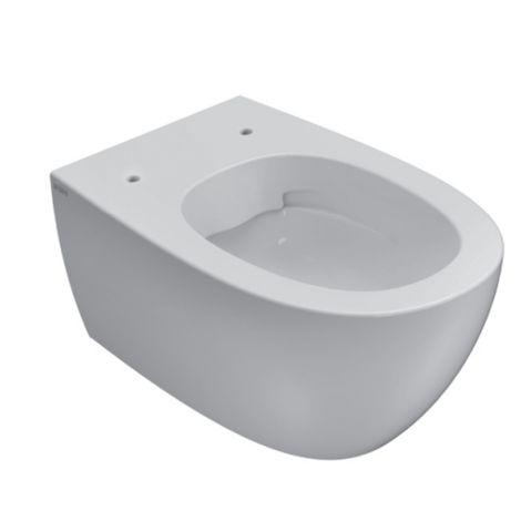 Cuvette wc suspendu sans bride 36x54 cm en céramique Globo 4ALL