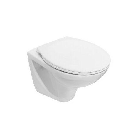Cuvette WC suspendue 49cm ROCA POLO compact - Blanche