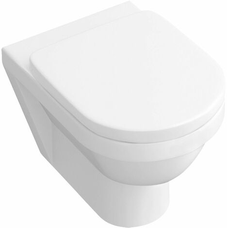 Cuvette WC suspendue à fond creux Architectura CeramicPlus 370 x 560 mm