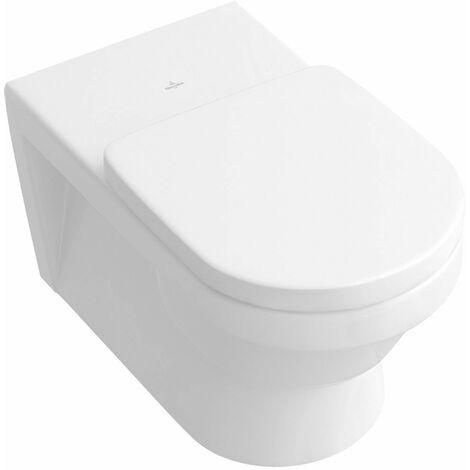 Cuvette WC suspendue à fond creux Architectura CeramicPlus 370 x 710 mm