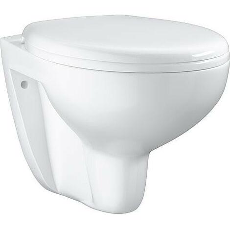 Cuvette WC suspendue à fond creux blanc alpin Bau Ceramic