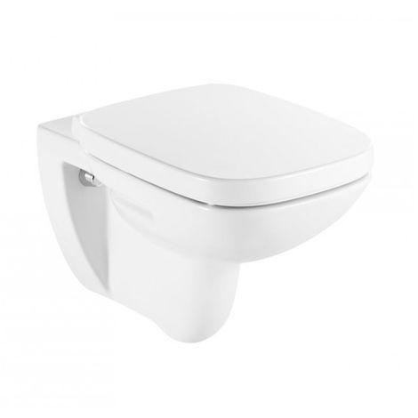 Cuvette WC suspendue DEBBA SQUARE sans bride - Blanche