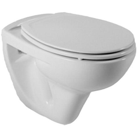 Cuvette WC suspendue NF ROCA POLO - Blanche