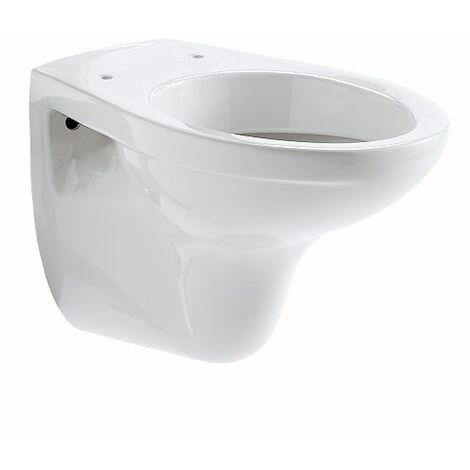 Cuvette WC suspendue nue Allia Bastia Blanc 52x36