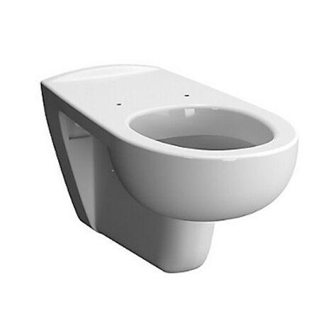 Cuvette WC suspendue Savo - Rallongée - 35,5x70cm - Blanc