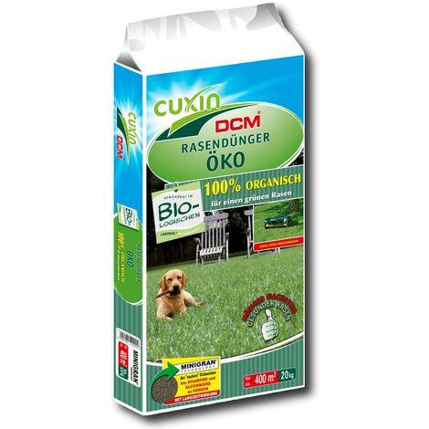 Cuxin engrais à gazon organique 20 kg engrais organique printemps été automne