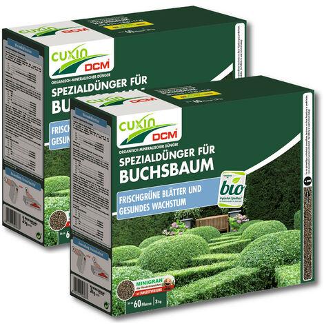 Cuxin engrais pour buis 3 kg engrais spécial, engrais pour haies, engrais, engrais pour arbres