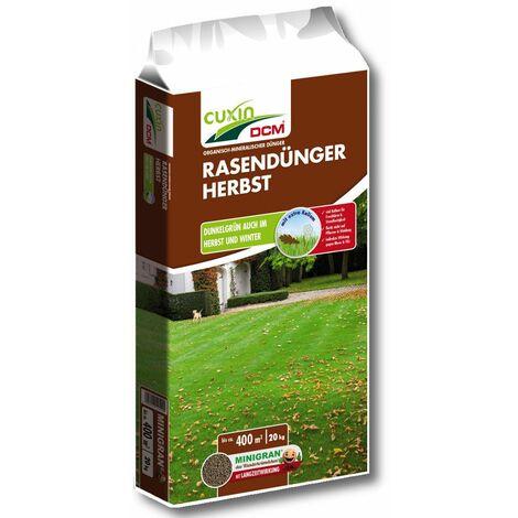 Cuxin Rasendünger Herbst 20 kg Rasen Dünger Kalium Winter Frost Garten Gras