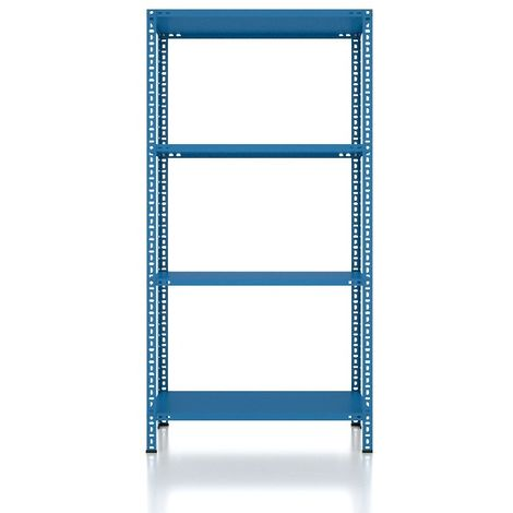 CVT Rack - with 3 Shelves, Tiers - Blue made of Metal, Plastic, 15 x 22 x 24 cm, 92 x 31 x 180 cm
