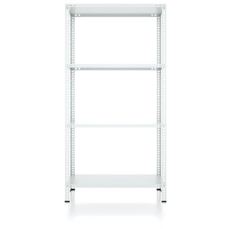 CVT Rack - with 3 Shelves, Tiers - Grey made of Metal, Plastic, 15 x 24 x 21 cm, 92 x 31 x 180 cm