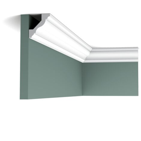 CX110 Corniche Plafond Orac Decor Axxent - 4,5x4,1x200cm (h x p x L) - moulure décorative - rigideouflexible : rigide - conditionnement : A l'unité