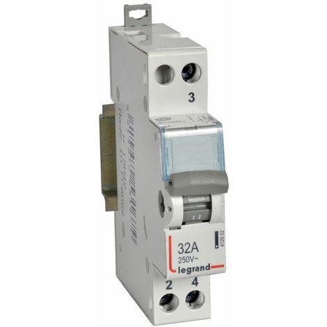 Cx3 interrupteur inverseur - va/vient point milieu 32a 250v