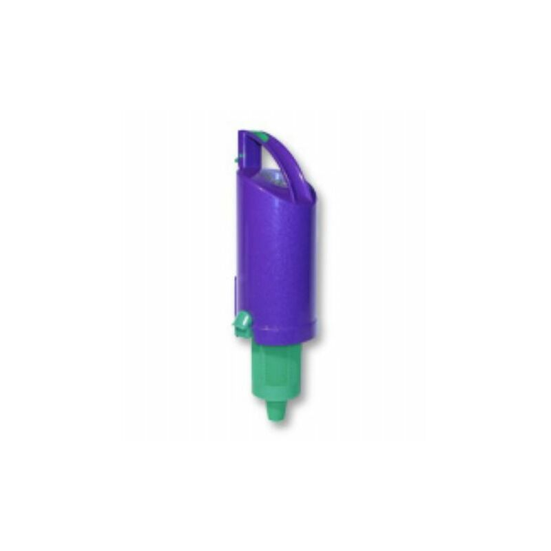 Image of Cyclone Top Assembly Purple/lime