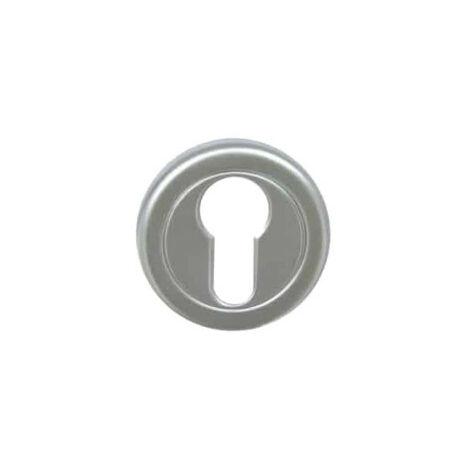 Cylinder rose Aluminium - Pyla - Pearl chrome finish