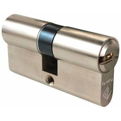 Cylindre 40x50 mm Haute Sécurité ABUS BRAVUS 2000 avec 3 clés, débrayable