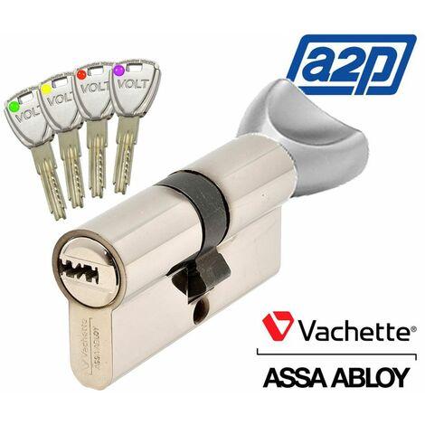 Cylindre bouton Vachette Volt A2P - Alu