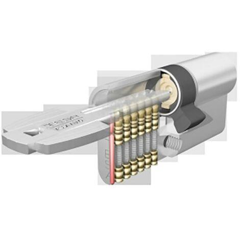 Cylindre de s�curit� � came courte 50X50Mm Nickel Nickel M6505050N Tesa M650505050N