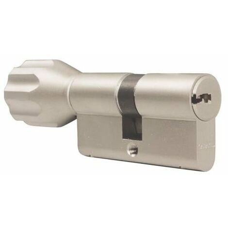 Cylindre de Très Haute Sécurité ABUS EC-S à 35boutonx50 - Alu
