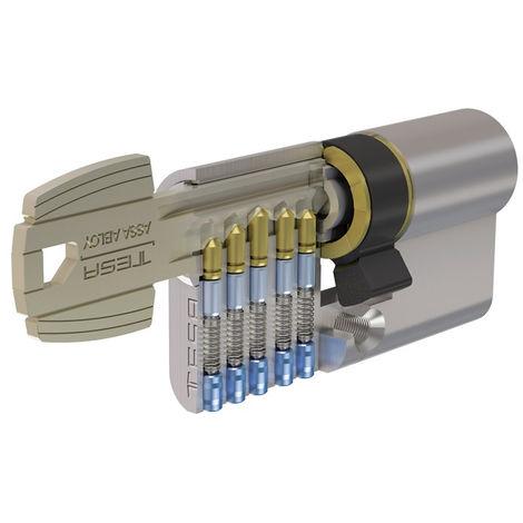 Cylindre nickelé T5C TESA 30x70 - MV3 variure 78565B - 50303070NKA