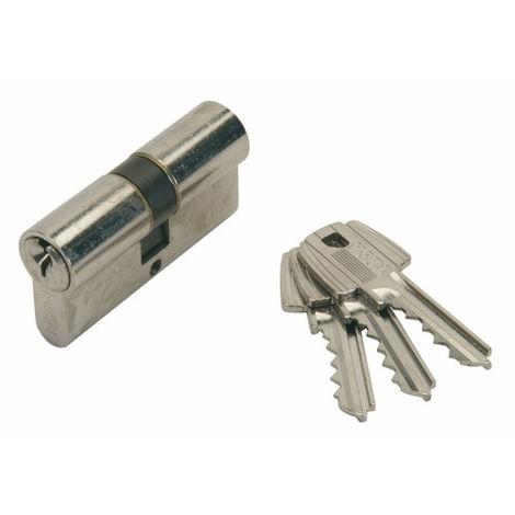 Cylindre nickelé T5C TESA 90mm (45+45) - MV3 variure 78565B - 50304545NKA