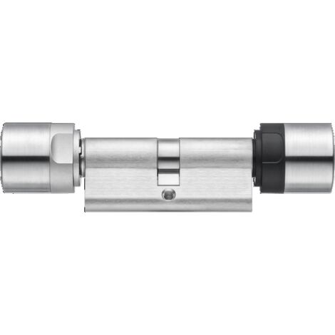 Cylindre numérique connecté SIMONS VOSS Profil européen à double bouton - Mobilekey - 30 x 30 mm - MK.Z4.35.30.CO.WP.LN.ZK.G2
