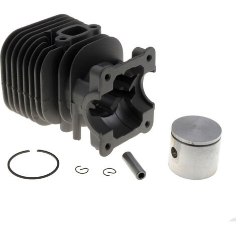 Cylindre piston 35mm adaptable coupe bordure Husqvarna 124, 125, 128