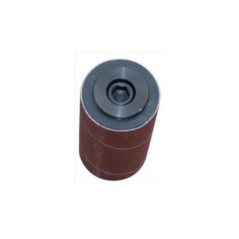 Cylindre ponceur B50 diametre 80 mm pour toupie 50 mm filetage M16