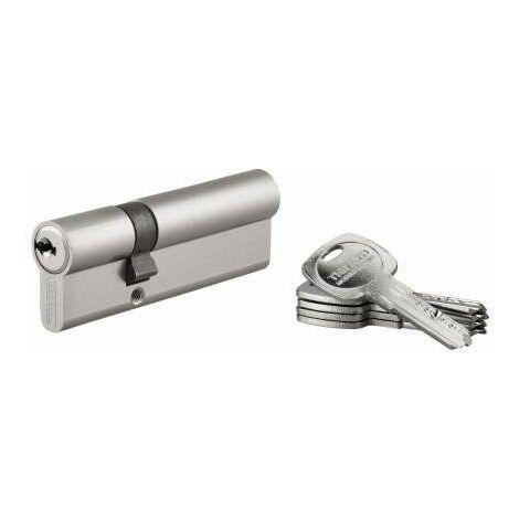 Cylindre PROFILE TRAFIC 6, nickelé V, 30x60, réversible, 5 clés
