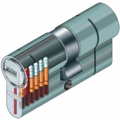 Cylindre serrure Abus D66 30x70 - Alu