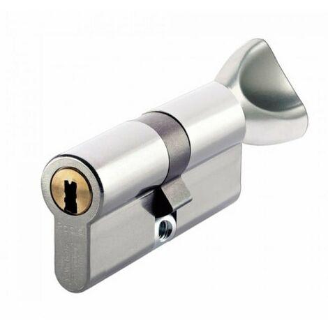 Cylindre serrure Vachette RADIALis 42,5 bouton x 32,5 - Alu