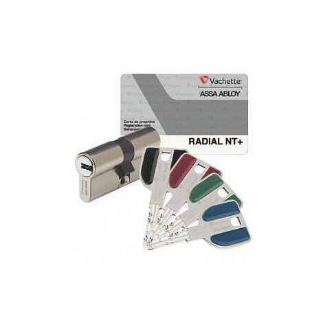 Cylindre symétiruq Radial NT+ (3 clés) VACHETTE- plusieurs modèles disponibles