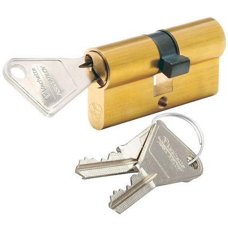 Cylindre Vachette V5 Barillet 40 x 40 mm pour serrure de porte
