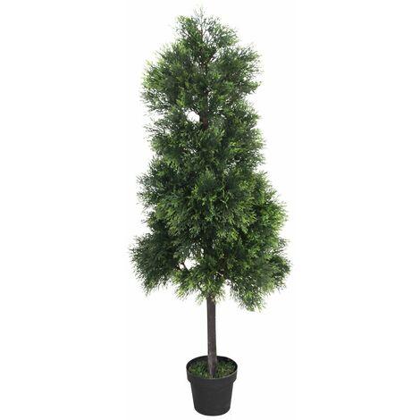 Cyprès Thuya Conifere Plante Arbre Artificielle 150cm Domaine Interne Decovego