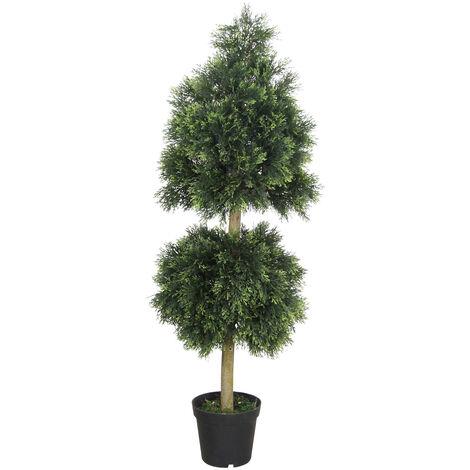 Cyprès Thuya Conifere Plante Arbre Artificielle 160cm Domaine Interne Decovego