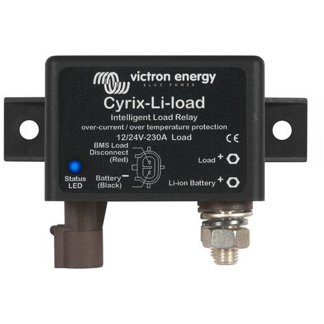 Cyrix-Li-load 12/24V-120A intelligent load relay (Ampérage : 120A)