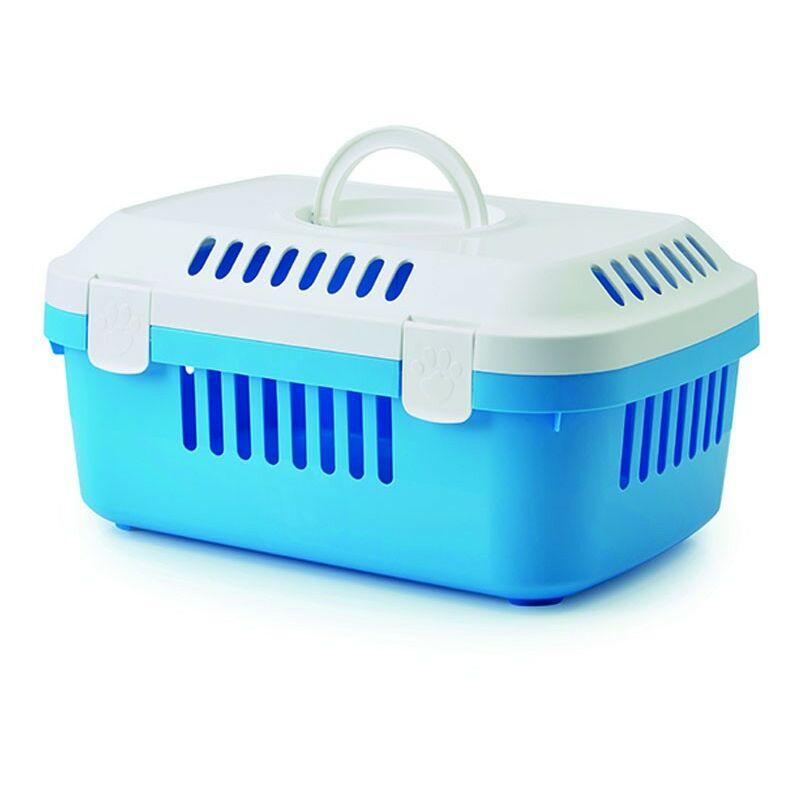 Decouverte TRANSPORTIN Compact Rongeur | ouverture superieure de support en plastique | chiens TRANSPORTIN, chats et rongeurs