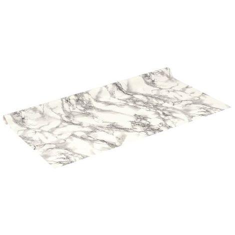 D-C-FIX - Rouleau adhésif - 67.5 cm x 2 m - motif marbre marmi blanc