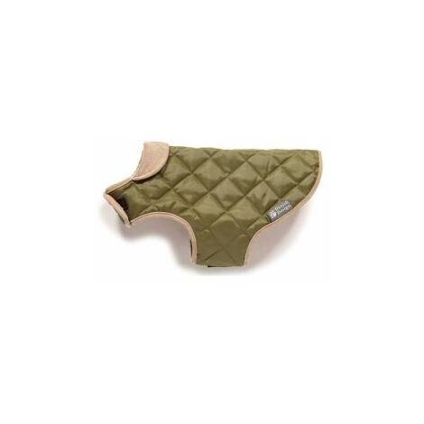 D/Design Quilted Dog Coat Forest Green 45cm x 1 (35452)
