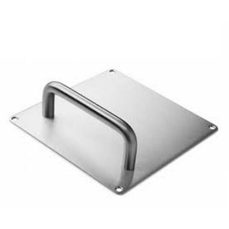 D Line 14.4213.02.121 Door handle with square stainless mat