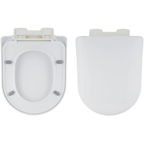 Phenomenal Square Toilet Seat Soft Close Quick Release Top Fix Hinges Onthecornerstone Fun Painted Chair Ideas Images Onthecornerstoneorg