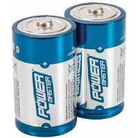 D-Type Super Alkaline Battery LR20 2pk - 2pk