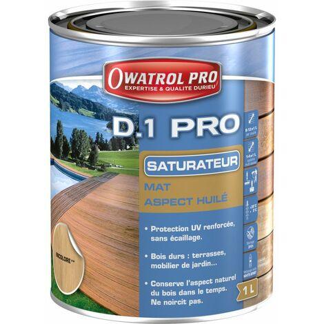 D1 PRO saturateur bois - Incolore 1 L