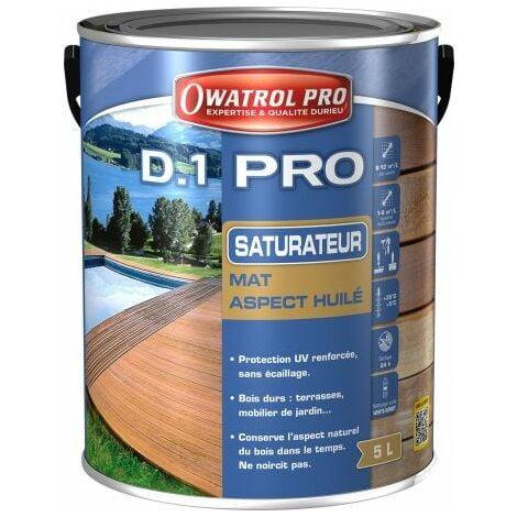 D1 PRO saturateur bois - Incolore 5 L