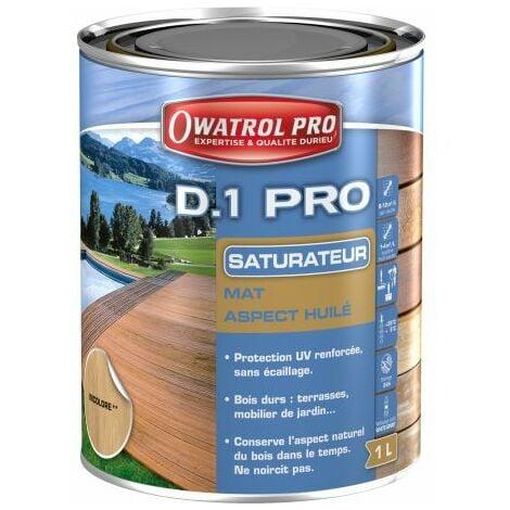 D1 PRO saturateur bois - Miel 1 L