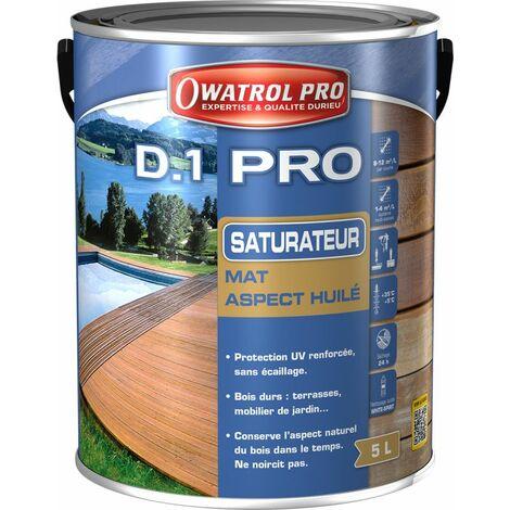 D1 PRO saturateur bois - Miel 5 L